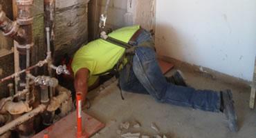 Plumbing Demolition